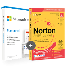 Office 365 Personnel + Norton AntiVirus Plus