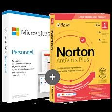 Office 365 Personnel + Norton AntiVirus Plus