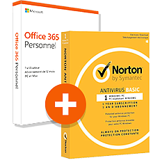 Office 365 Personnel + Norton AntiVirus Basic