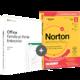 Visuel Pack Office Famille et Petite Entreprise 2019 + Norton AntiVirus Plus