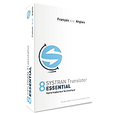 Systran 8 Translator Essential - Français - Europe