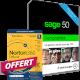 Visuel Sage 50 Comptabilité Premium - Contrat Classic + Norton 360 Deluxe