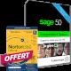 Visuel Sage 50 Comptabilité + Gestion Commerciale Standard - Contrat Classic + Norton 360 Deluxe