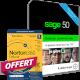 Visuel Sage 50 Gestion Commerciale Essentials - Contrat Classic + Norton 360 Deluxe