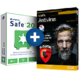 Visuel Steganos Safe + G DATA Antivirus
