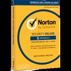 Norton Security Deluxe - 5 appareils - Abonnement 3 ans