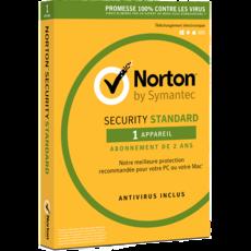 Norton Security Standard - 1 utilisateur - 1 appareil - Abonnement 2 ans