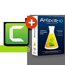 Camtasia + Antidote 10