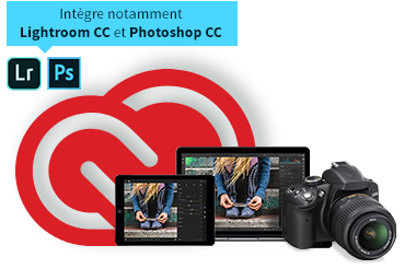 Acheter Adobe Creative Cloud Photographie - 20 Go