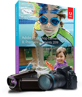 Acheter ADOBE Photoshop Elements 2019 & Premiere Elements 2019 - Education
