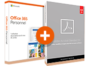 Acrobat Standard DC + Microsoft Office 365 Personnel