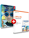 ADOBE Photoshop Elements 2019 - Windows + Microsoft Office 365 Personnel