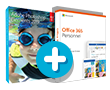 Adobe Photoshop Elements 2019 + Office 365 Personnel