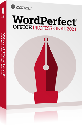 WordPerfect Office Professional 2020 + Assurance Mise à jour