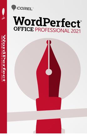 WordPerfect Office Professional 2021 + Assurance Mise à jour