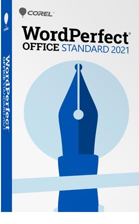WordPerfect Office Standard 2021
