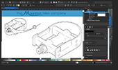 Screenshot 4 CorelDRAW Technical Suite 2019