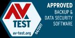 AV-test - Approved - Backup & data security software