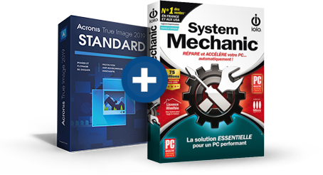 Acronis True Image 2019 - 1 appareil + System Mechanic 17