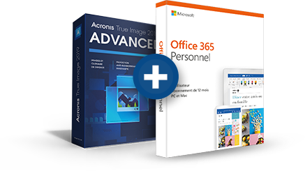 Acronis True Image Advanced + Office 365 Personnel