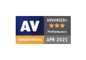 AV Comparative - Advanced+ - April 2021