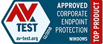 AV Test Top Product Approved Corporate Endpoint Protection Windows