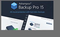 Screenshot 4 Ashampoo Backup Pro 15