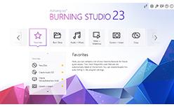 Screenshot 1 Ashampoo Burning Studio 22