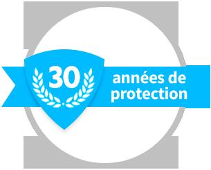 30 années de protection