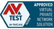 AV Test - Approved virtual private network solution