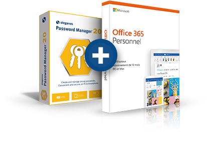 Steganos Password Manager + Office 365 Personnel