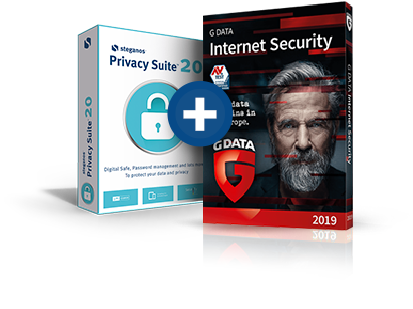 Steganos Privacy Suite + G DATA Internet Security