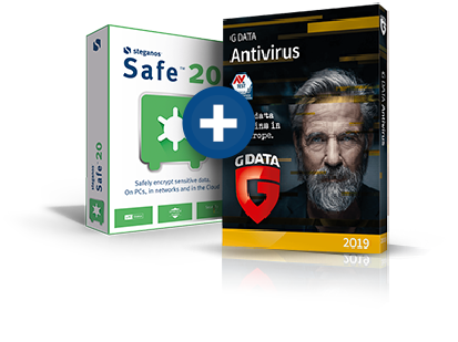 Steganos Safe + G DATA Antivirus