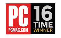 PC Mag - 16 Time Winner