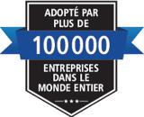 Adopté par plus de 100 000 entreprises dans le monde entier