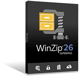 WinZip 25 Enterprise perpétuelle + Maintenance 1 an